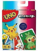 Mattel Uno Pokemon Juego de Cartas Japón Oficial Importación