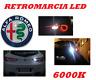 LAMPADA RETROMARCIA LED 6000K CANBUS NO ERROR ALFA 159 TUTTI I MODELLI