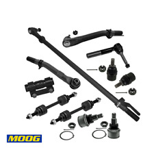 Front Steering Rebuild Kit Drag Link Tie Rod Ball Join for Ford F-450 Super Duty