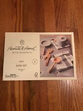 Hearth & Hand Magnolia Wooden Toy Kitchen Set Cook Pots and Play Farmhouse
