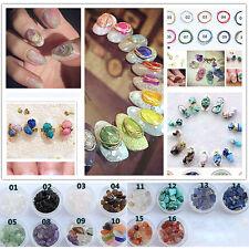 New Beauty 3D Crystal Jade Stone Acrylic Nail Art Rhinestone Tips Manicure Decor