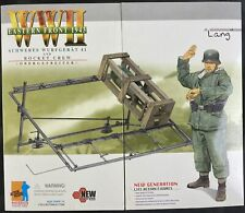 DRAGON Models 1/6 WWII LANG SCHWERES WURFGERAT ROCKET CREW EASTERN FRONT #70200