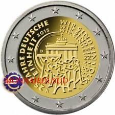 2 Euro Commémorative Allemagne 2015 - Réunification Allemande