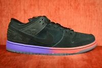 WORN ONCE Nike SB Dunk Low Premium BHM Black History Month  Purple Size 9