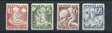 Pays-Bas N°230/33* (MH) 1930 - l'Enfant et les quatre saisons