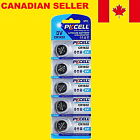 5x CR1632 Lithium Battery 3V Button Coin Watch Cells Batteries PKCELL