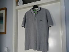 d4c6412f0c6b MENS Hugo Boss Modern Fit Grey SHORT SLEEVE POLO SHIRT SIZE S GREAT  CONDITION