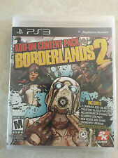 Borderlands 2: Add-On Content Pack (Sony PlayStation 3, 2013) ps3 new