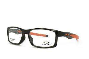 Oakley Crosslink OX8141-0356 Brille 56-17-137 Grau Schildplatt Orange W/Tasche
