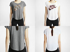 Nike Womens Signal Blazer Floral Tee Grey/White S/M/L/XL NWT
