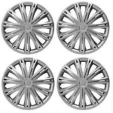 "15"" SILVER WHEEL TRIMS SET OF 4 HUB CAPS FOR MERCEDES SPRINTER VAN ALL YEARS"