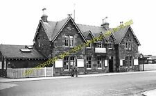 Kirkcudbright Railway Station Photo. Castle Douglas and Dumfries Line. GSWR. (1)