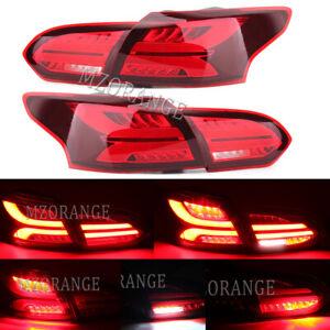 4X LED Left Right Rear Tail Light Brake Lamp for Ford Focus MK3 Estate 2015-2019