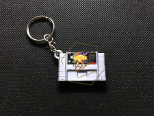 EarthBound 3D CARTRIDGE KEYCHAIN super nintendo snes collectible