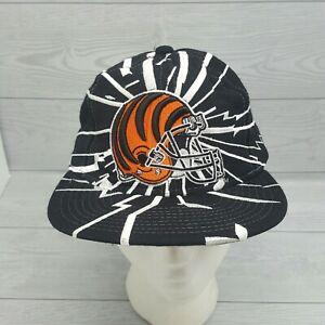 Vintage NFL Cincinnati Bengals SnapBack Hat 90s Collision Starter Hat RARE