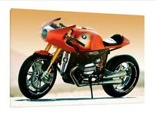 BMW R90S - 30x20 Inch canvas MOTORCYCLE INCORNICIATO QUADRO STAMPA POSTER