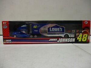 2007 Winner's Circle Jimmie Johnson Lowes Transporter 1/64