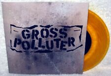 "GROSS POLLUTER Cynical Scumbaggery 7"" EP Surf Punk ORANGE VINYL Smogtown LIMITED"