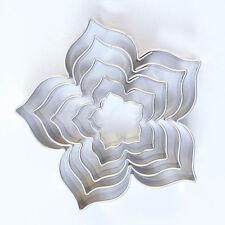 Ausstecher Ausstechform Set  Blume, Blüte, Rose Lilie 1,5/2,5/3,5/4,5/5,5 cm