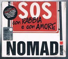 I NOMADI SOS CON RABBIA E CON AMORE CD DIGIPACK  F.C. SIGILLATO!!!