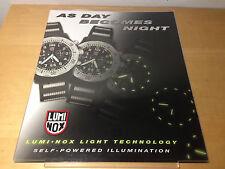 Used in shop -  Display LUMINOX  Expositor - 37'5 x 31 cm - Usado en tienda