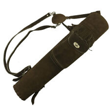 Pocketed Dark Suede Back Quiver