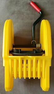 NEW Rubbermaid Commercial WaveBrake Wringer Down-Press plastic yellow 7575-88