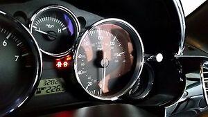 Mazda MX5 MK3 Aluminium Trip and Clock Set Knob Covers