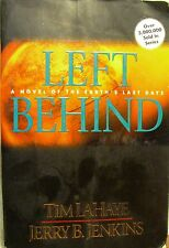 """Lahay & Jenkins """"Left Behind A Novel of Earths Last Days"""" 1995 Tyndale  (G)"""