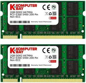 Komputerbay 1Go DDR2 667 MHz PC2-5300 PC2-5400 DDR2 667 (200 PIN) SODIMM