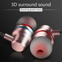 Metal Stereo Headphone Bass Sport Earphone Headset Hands Free Earbuds With Mic T