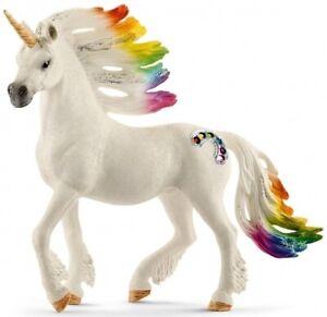 Schleich Rainbow Unicorn Stallion 70523