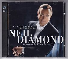 NEIL DIAMOND-THE MOVIE ALBUM-AS TIME GOES BY 2 CD'S ELMER BERNSTEIN