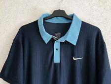Nike Roger Federer XXL Polo Challenge Shirt Nadal Tennis Rare Sport