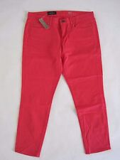 J.CREW Women Toothpick Garment Dyed Twill Ankle Jean Size 32 NwT