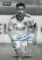 2018 Topps Major League Soccer Stadium Club Autograph Issue Black and White /99