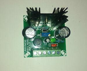 Positive Adjustable Voltage Regulator Module 1.5-29 volts, 10MA-1.5 Amps