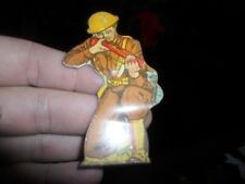Vintage Metal Soldier Infantry Private with Garand Rifle Toy MARX TOYS