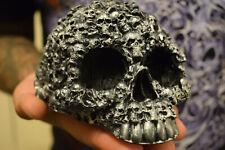 Skull candle. Big candle skull. 100% vegetable wax. Halloween candles.