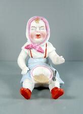 Kleines weinendes Mädchen aus Bisquitporzellan - um 1950/60 - Suppenkasper