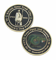250th New York City St. Patrick's Day Parade Challenge Coin