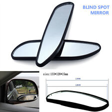 2Pcs Car Auxiliary Adjustable Rear Side Mirror Rearview Blind Spot Convex Mirror
