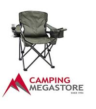 OZTRAIL LUMBAR JACK BACK SUPPORTING CAMPING ARM CHAIR - capacity 160kgs