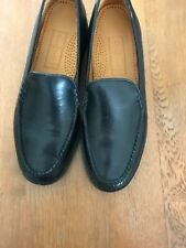 1b8fa52f624 Women s Cole Haan Black Leather Loafers with stylish Ripple Sole