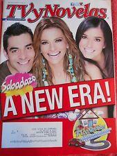 TV Y NOVELAS MAGAZINE OCTOBER OCTUBRE 2015 SABADAZO NEW ERA ESPANOL SPANISH