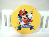 "RARE=VTG=1990'S=DISNEY'S=MICKEY MOUSE-""MICKEY'S PARADE""= PROMO 3"" CELLO PIN"