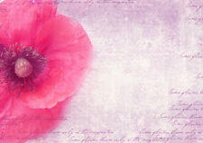 BEAUTIFUL PINK FLOWER CANVAS PICTURE #47 STUNNING VINTAGE SHABBY CHIC A1 CANVAS