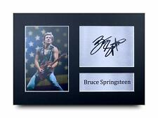 Bruce Springsteen Signed Pre Printed Autograph Photo Gift For a Boss Fan