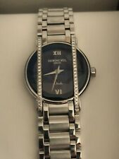Raymond Weil Othello 2012 diamond Ladies watch Blue Dial