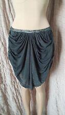 Etoile Isabel Marant wrap up style gathered mini skirt size S